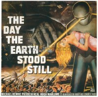 599 DAY THE EARTH STOOD STILL ('51) linen 6sh