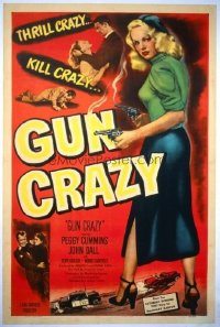 179 GUN CRAZY ('50) linen 1sheet