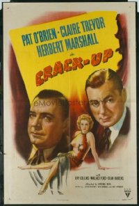 #120 CRACK-UP 1sh46 O'Brien, Trevor, Marshall