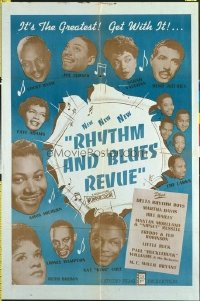 362 RHYTHM & BLUES REVUE linen 1sheet