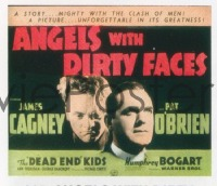 VHP7 205 ANGELS WITH DIRTY FACES glass lantern coming attraction slide '38 James Cagney