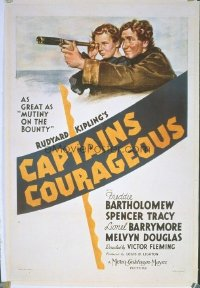 204 CAPTAINS COURAGEOUS linen 1sheet