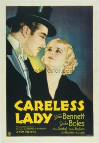 159 CARELESS LADY linen 1sheet