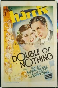 103 DOUBLE OR NOTHING 1sh '36 Phil Harris, Leah Ray