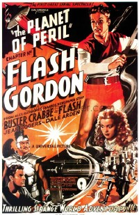 075 FLASH GORDON ('36) linen 1sheet