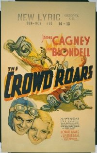 041 CROWD ROARS ('32) paperbacked WC