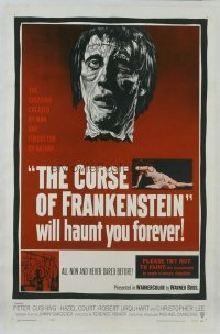 090 CURSE OF FRANKENSTEIN ('57) 1sheet
