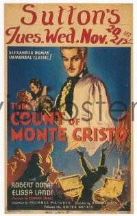 294 COUNT OF MONTE CRISTO ('34) WC