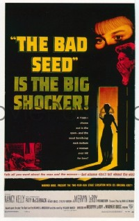 1509 BAD SEED signed one-sheet movie poster '56 Patty McCormack!