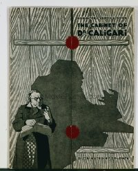 020 CABINET OF DR CALIGARI ('21) German pressbook