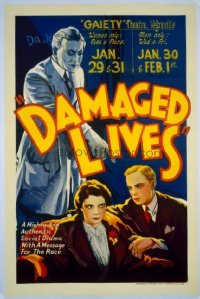 164 DAMAGED LIVES linen 1sheet