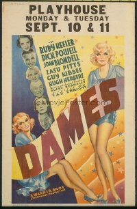 v416 DAMES  WC '34 Ruby Keeler, Powell, Busby Berkeley