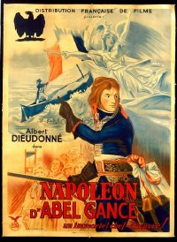 #129 NAPOLEON French one-panelR30s Abel Gance