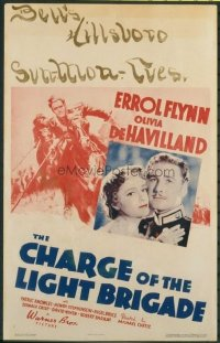 v343 CHARGE OF THE LIGHT BRIGADE ('36)  WC '36 Errol Flynn
