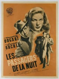 #107 DARK PASSAGE French '47 Bogart, Bacall