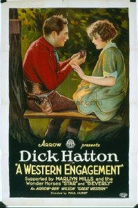 141 WESTERN ENGAGEMENT 1sheet