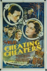 258 CHEATING CHEATERS ('34) 1sheet