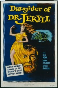 342 DAUGHTER OF DR JEKYLL 1sheet