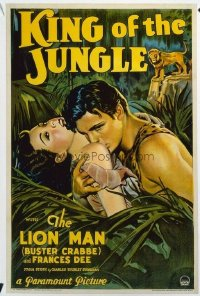 402 KING OF THE JUNGLE ('33) linen 1sheet