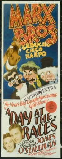 #208 DAY AT THE RACES insert37 Marx Brothers