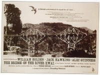 127 BRIDGE ON THE RIVER KWAI British quad
