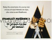 154 CLOCKWORK ORANGE ('72) British quad