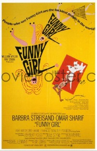 145 FUNNY GIRL ('69) road show 1sheet