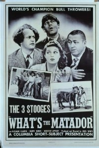 289 WHAT'S THE MATADOR linen 1sheet