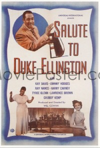 110 SALUTE TO DUKE ELLINGTON linen 1sheet