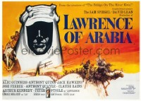 132 LAWRENCE OF ARABIA linen British quad