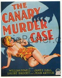 091 CANARY MURDER CASE UF WC