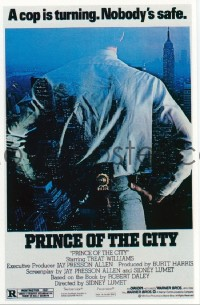 4675 PRINCE OF THE CITY one-sheet movie poster '81 Treat Williams