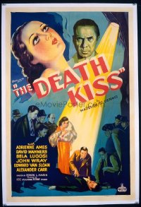 #073 DEATH KISS styleB 1sheet '32 Bela Lugosi