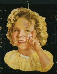 236 SHIRLEY TEMPLE door hanger & standee