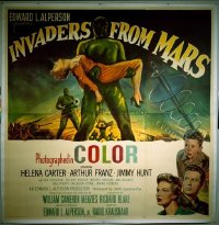 #047 INVADERS FROM MARS 6sh '53 W.C. Menzies!