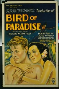 190 BIRD OF PARADISE ('32) 1sheet
