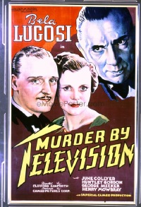 309 MURDER BY TELEVISION linen 1sheet