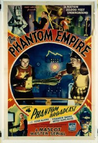 516 PHANTOM EMPIRE 1sheets & set of 8 LC