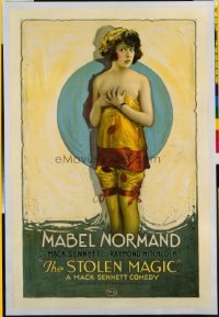 v479 STOLEN MAGIC linen 1sh R20s sexy Mabel Normand!