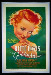 179 GOLDEN ARROW ('36) linen 1sheet