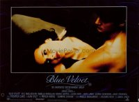 v078 BLUE VELVET  British quad '86 David Lynch, Rossellini