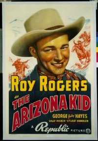 013 ARIZONA KID ('39) linen 1sheet