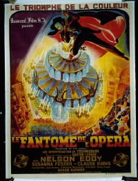 073 PHANTOM OF THE OPERA ('43) linen French