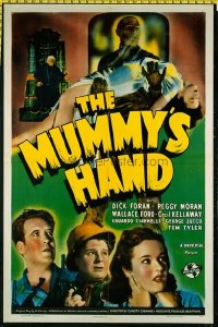 #079 MUMMY'S HAND one-sheet movie poster '40 Universal Egyptian horror!!