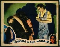 207 MURDERS IN THE RUE MORGUE ('32) LC