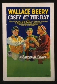 118 CASEY AT THE BAT paperbacked 1sheet