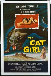 340 CAT GIRL 1sheet