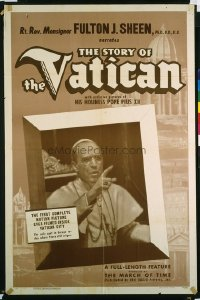 261 STORY OF THE VATICAN 1sheet