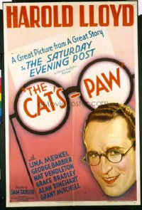 165 CAT'S PAW ('34) 1sheet