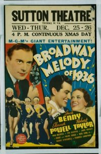 323 BROADWAY MELODY OF 1936 WC